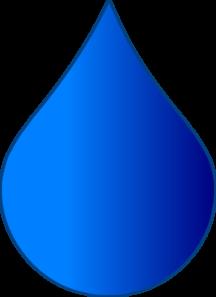 216x297 Blue Drop Clip Art