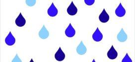 272x125 Rain Drop Clipart Black And White Clipart Panda