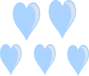 298x255 Heart Raindrops Clip Art