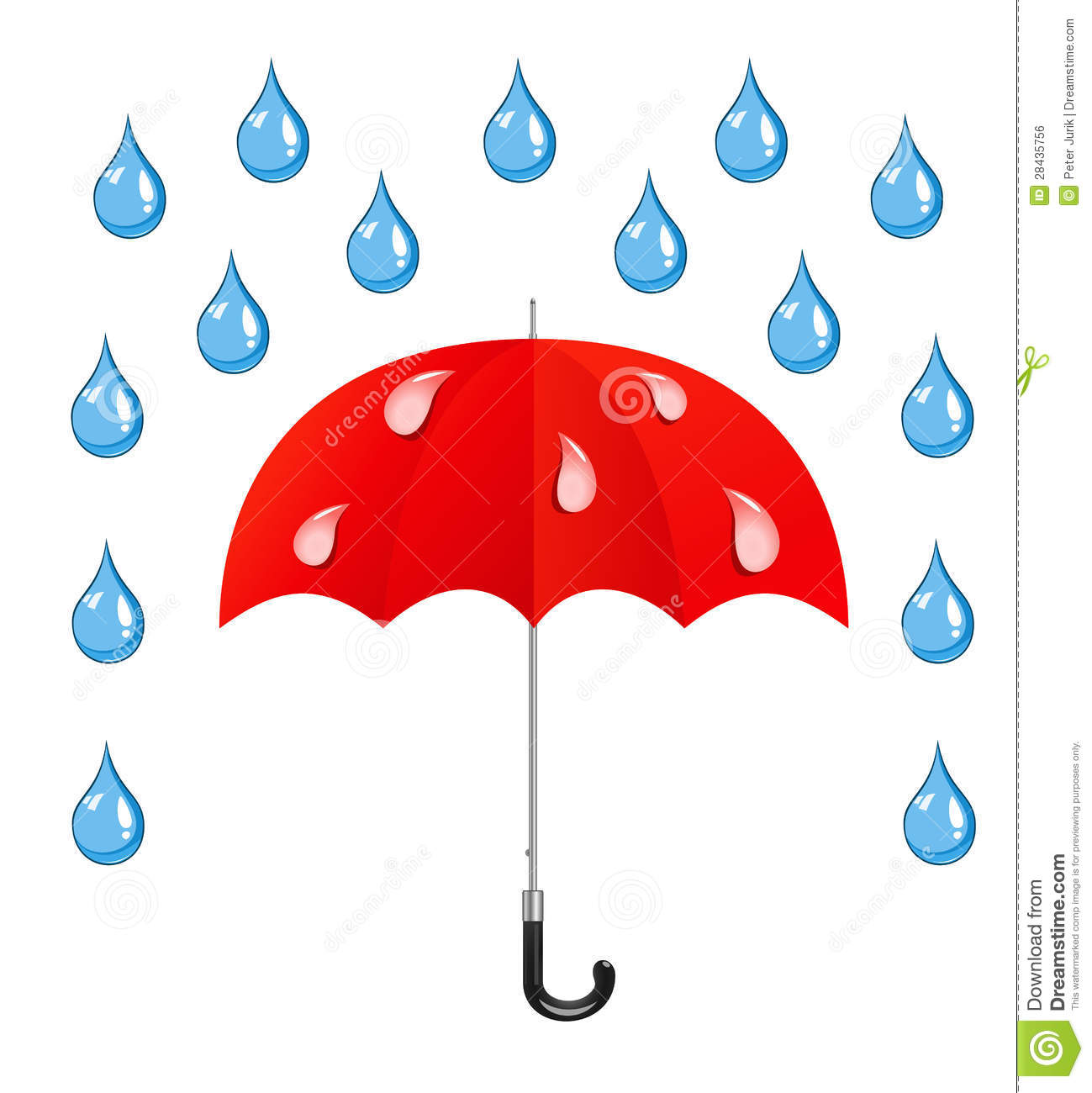 1299x1300 Raindrops Clipart Rain And Snow