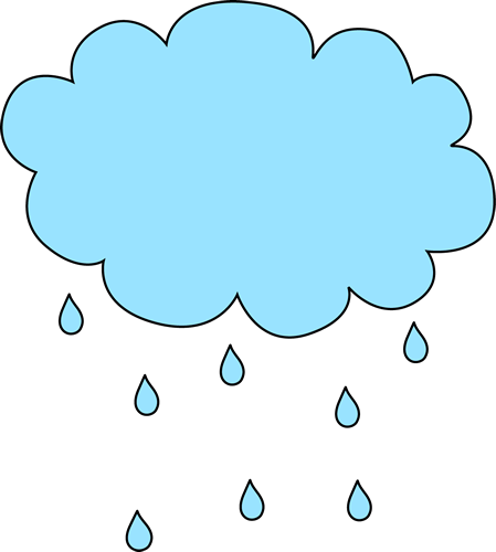 449x500 Raindrops Clipart Sad