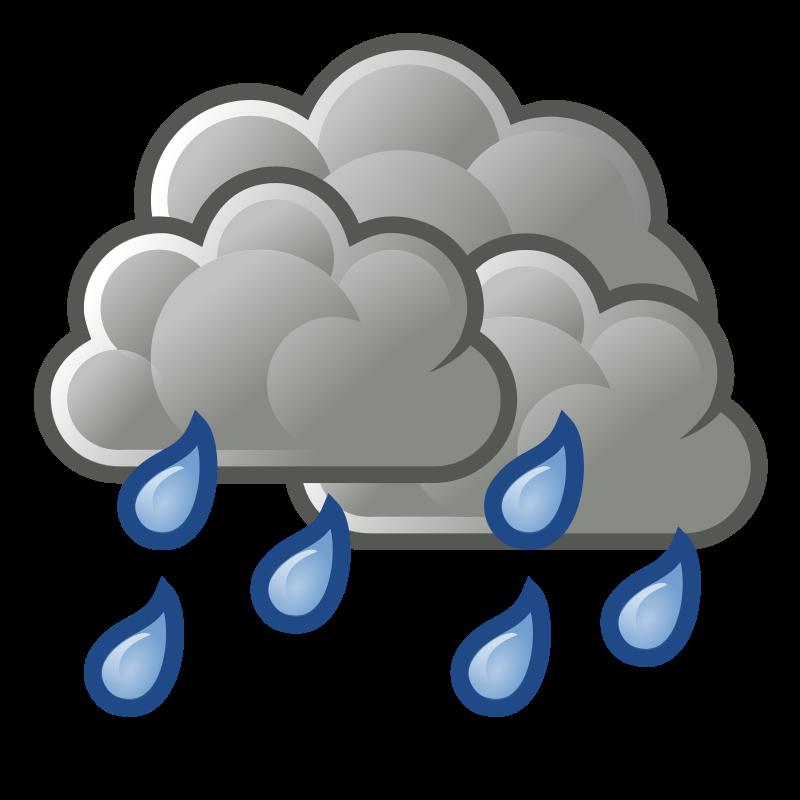 800x800 Rain Clipart Rainfall