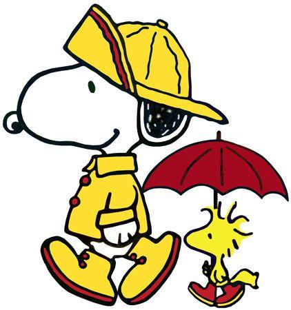 422x450 Rain Clipart Snoopy