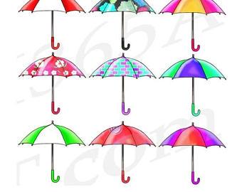 340x270 Rain Umbrella Etsy
