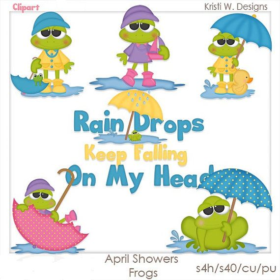 570x570 Animated April Showers Clipart