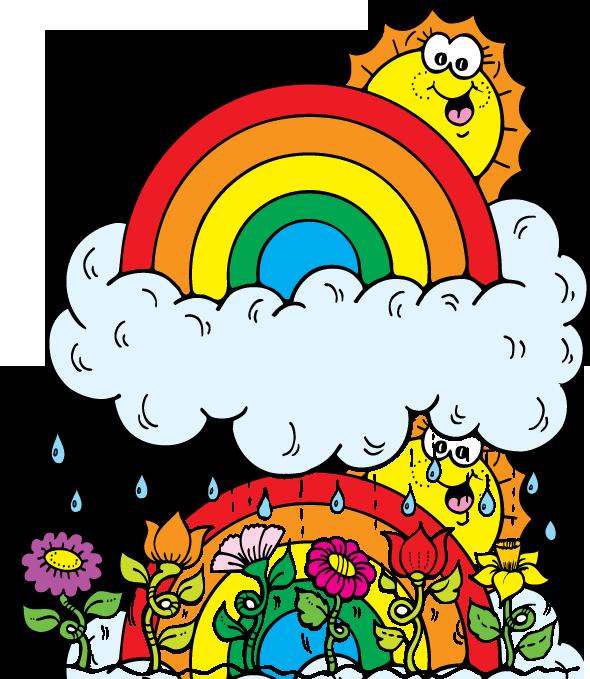590x679 April Showers Clipart