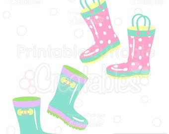 340x270 Rain Boots Clipart Etsy