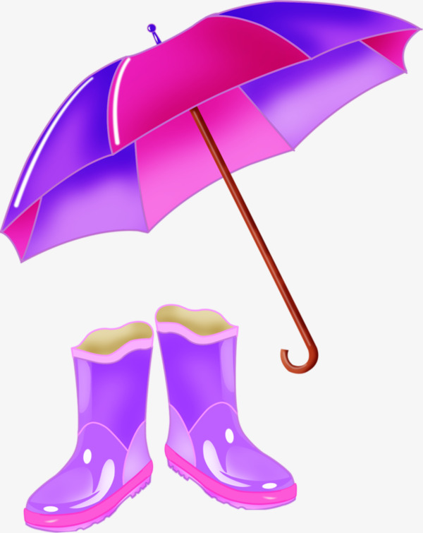 600x755 Rain Rain Gear, Umbrella, Rain Boots, Purple Png Image For Free