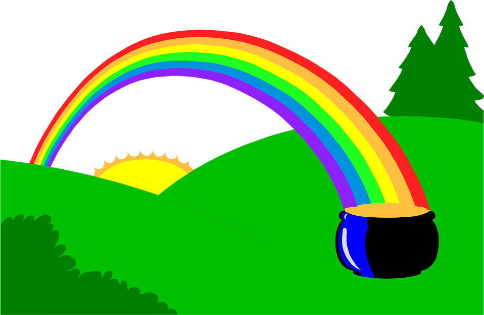 958x625 Graphics For Rainbow Pot Of Gold Graphics