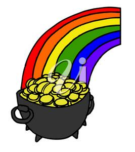 267x300 Illustration Of A Pot Of Gold
