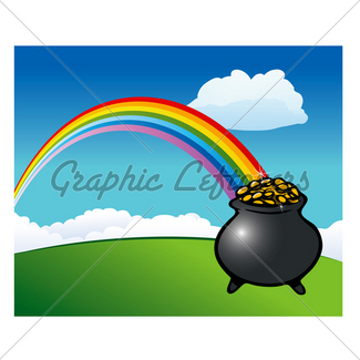 325x325 Pot Of Gold Gl Stock Images
