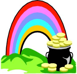 250x243 Rainbow And Pot Of Gold Clipart Picture Clipartmonk