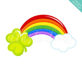 340x270 Just Rainbows Cute Digital Clipart, Rainbow Clip art, Rainbow