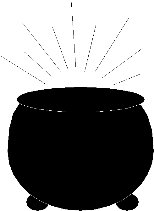 490x671 Pot Of Gold Clipart Free Images 3