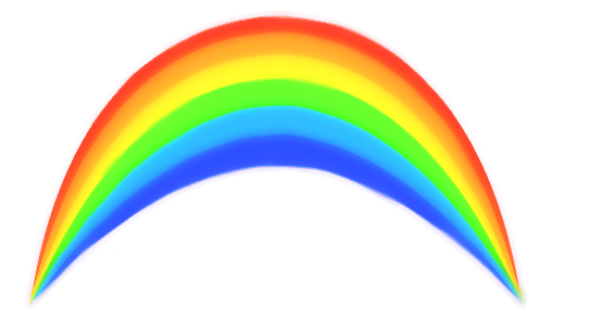 554x296 Clipart Rainbows