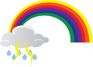 300x217 Rain And Sun Clipart