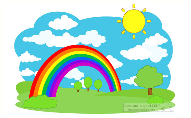 620x382 Rainbow clip art free clipart images 2 famclipart –