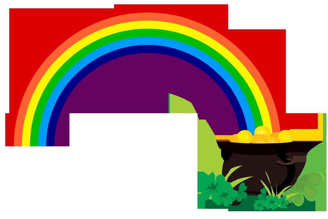 1058x708 Rainbow clipart 3