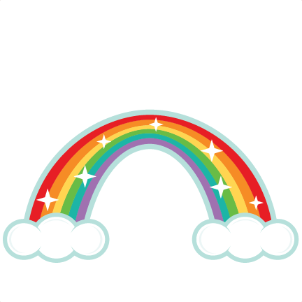 432x432 Rainbow Clipart Black And White Free Images 5