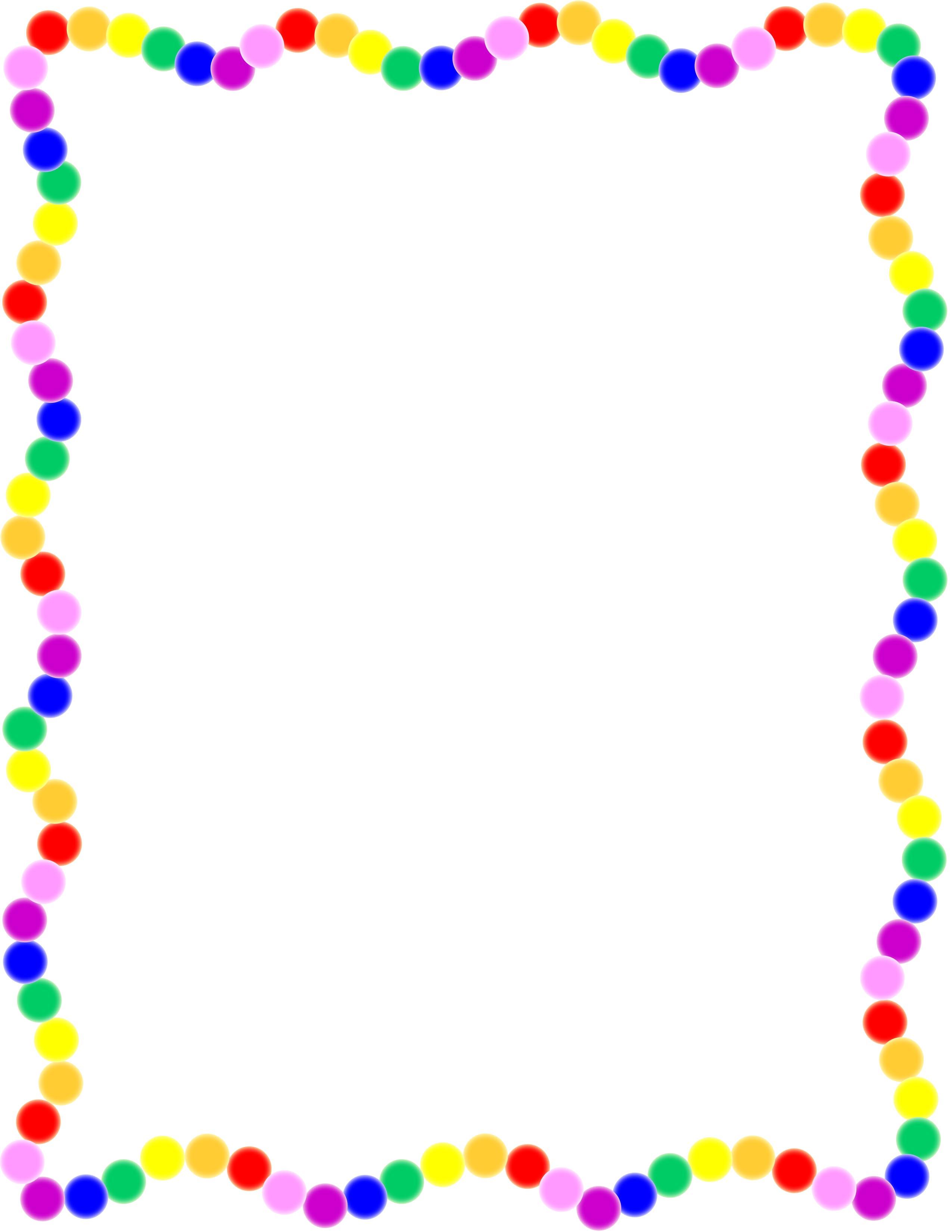 2550x3300 Rainbow Border Doodle Art By Jenny Visit My Tpt Store My Tpt