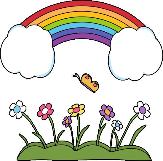 550x544 Rainbow Borders Clip Art