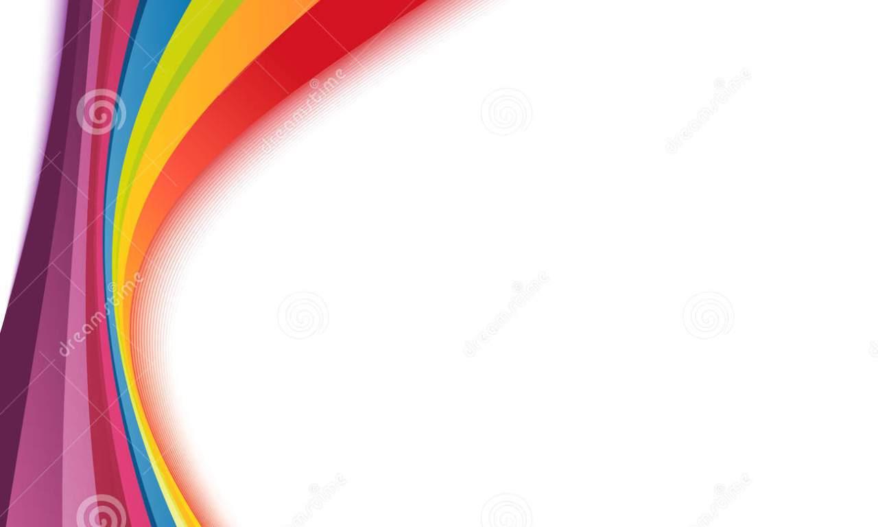 1280x768 Rainbow Stripe Border Clip Art Holli Carey Long