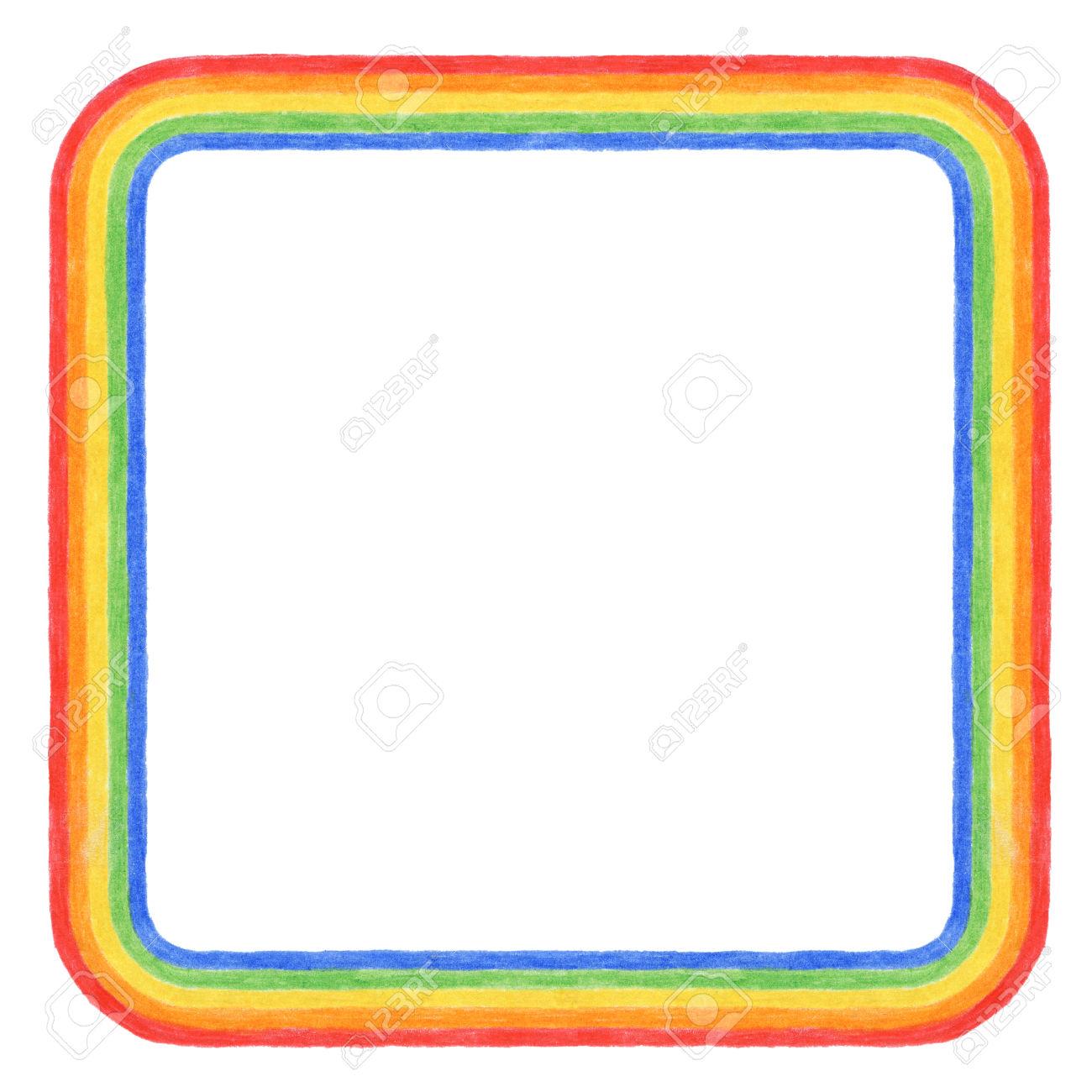 1300x1300 Square Clipart Rainbow