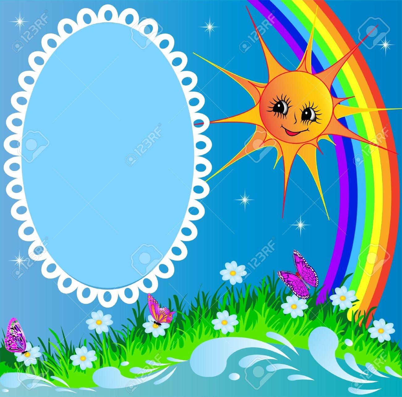 1300x1284 Clip Art Rainbow Border Clip Art
