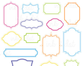 340x270 Decorative Clipart Etsy