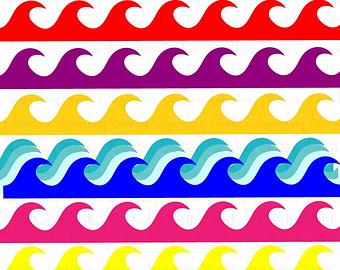 340x270 Wave Clipart Borders, Ocean Clipart Panda