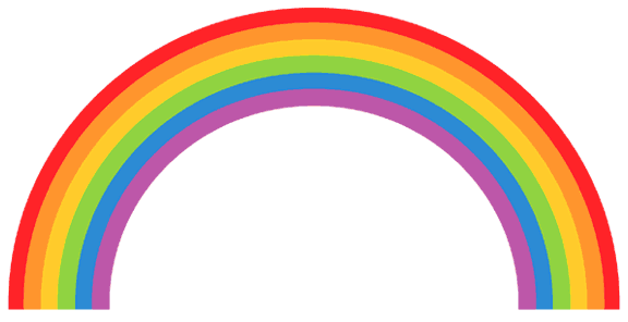 576x296 Bridge Clipart Rainbow