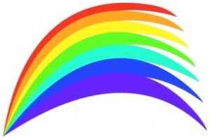 300x200 Free Rainbow Png Clip Art
