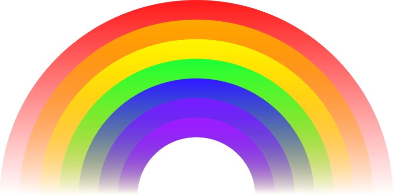 800x399 Free Rainbow Clipart Animated S Vectors