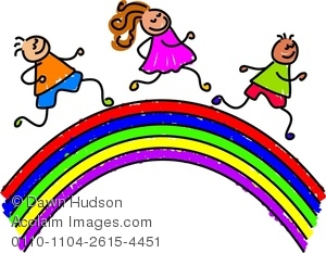 300x233 Over The Rainbow Clipart