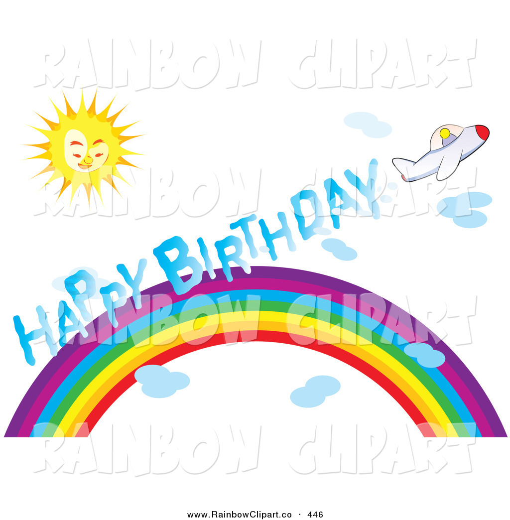 1024x1044 Rainbow Birthday Clipart