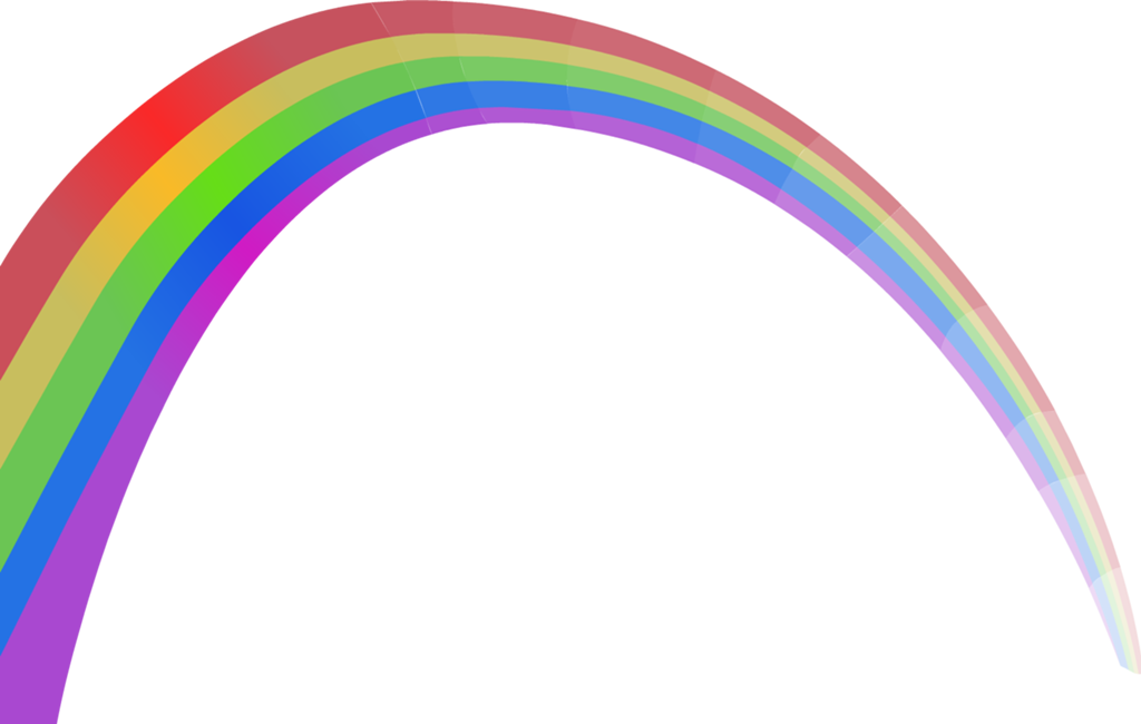1024x650 Rainbow Bridge Clipart