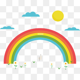 260x260 Beautiful Rainbow Png Images Vectors And Psd Files Free