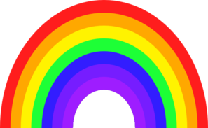 297x183 Bigger Rainbow Clip Art