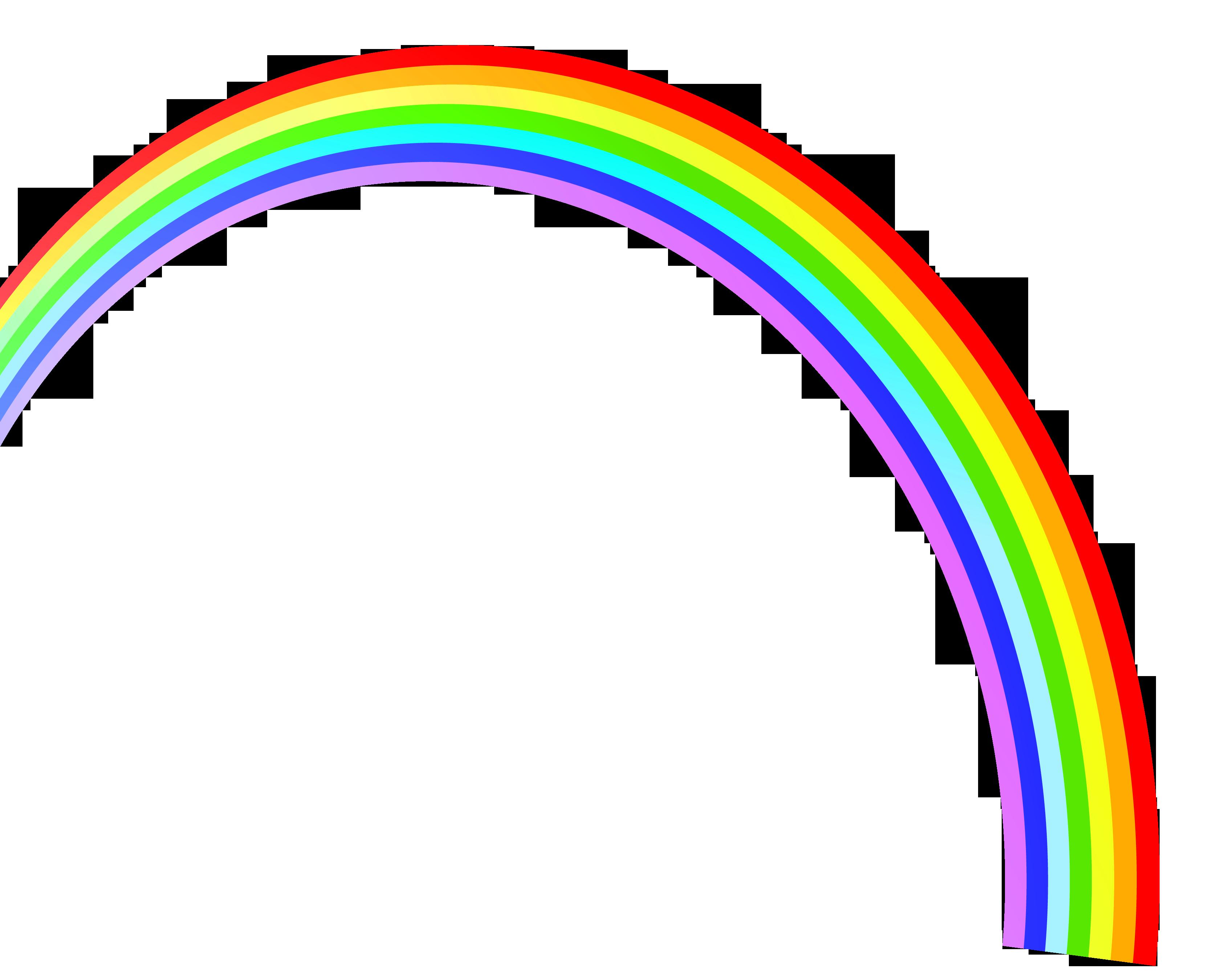 3319x2699 Clipart rainbow vector clipart clipartcow 2