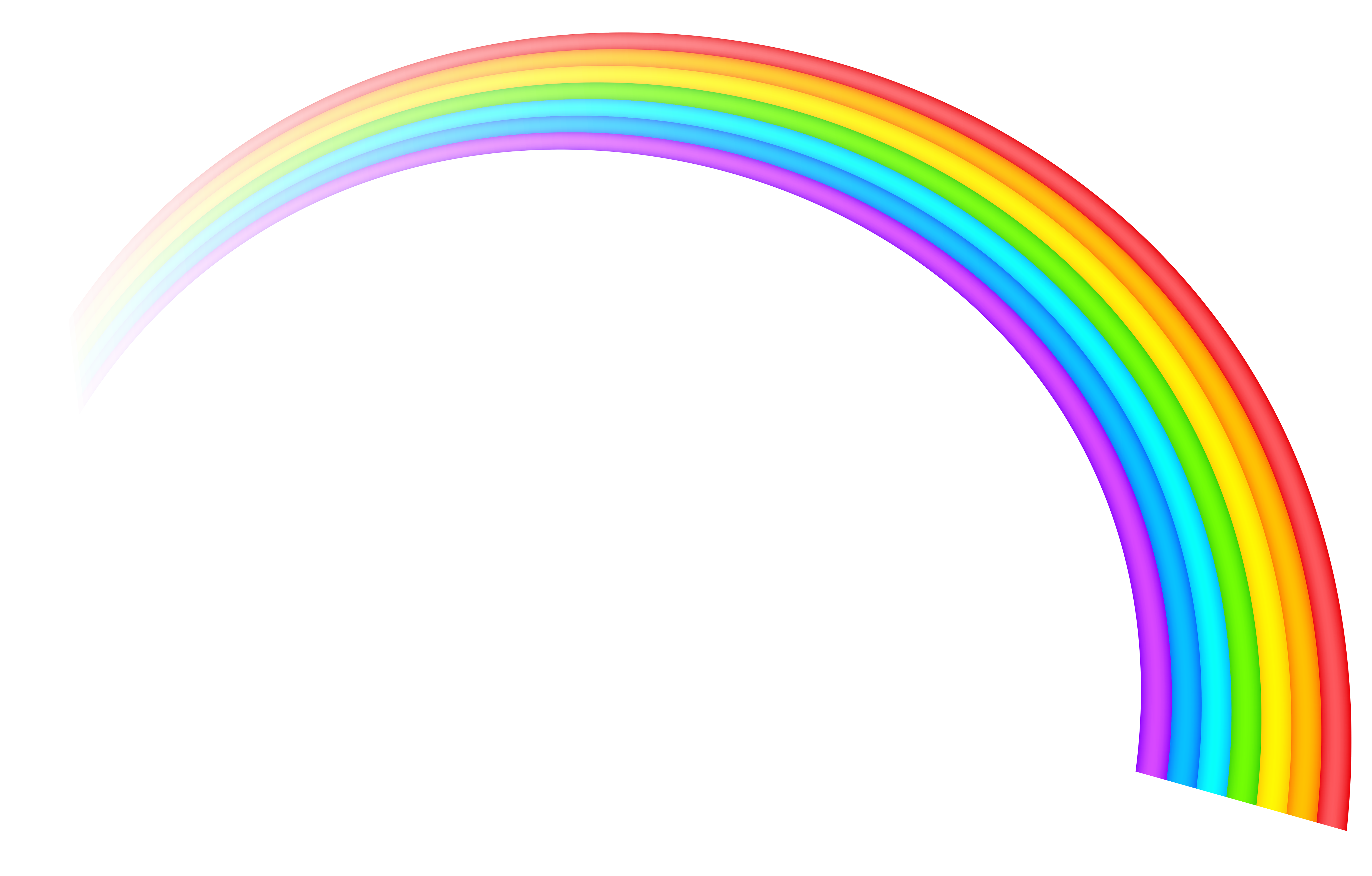 5076x3239 Rainbow Transparent Clipart Pictureu200b Gallery Yopriceville