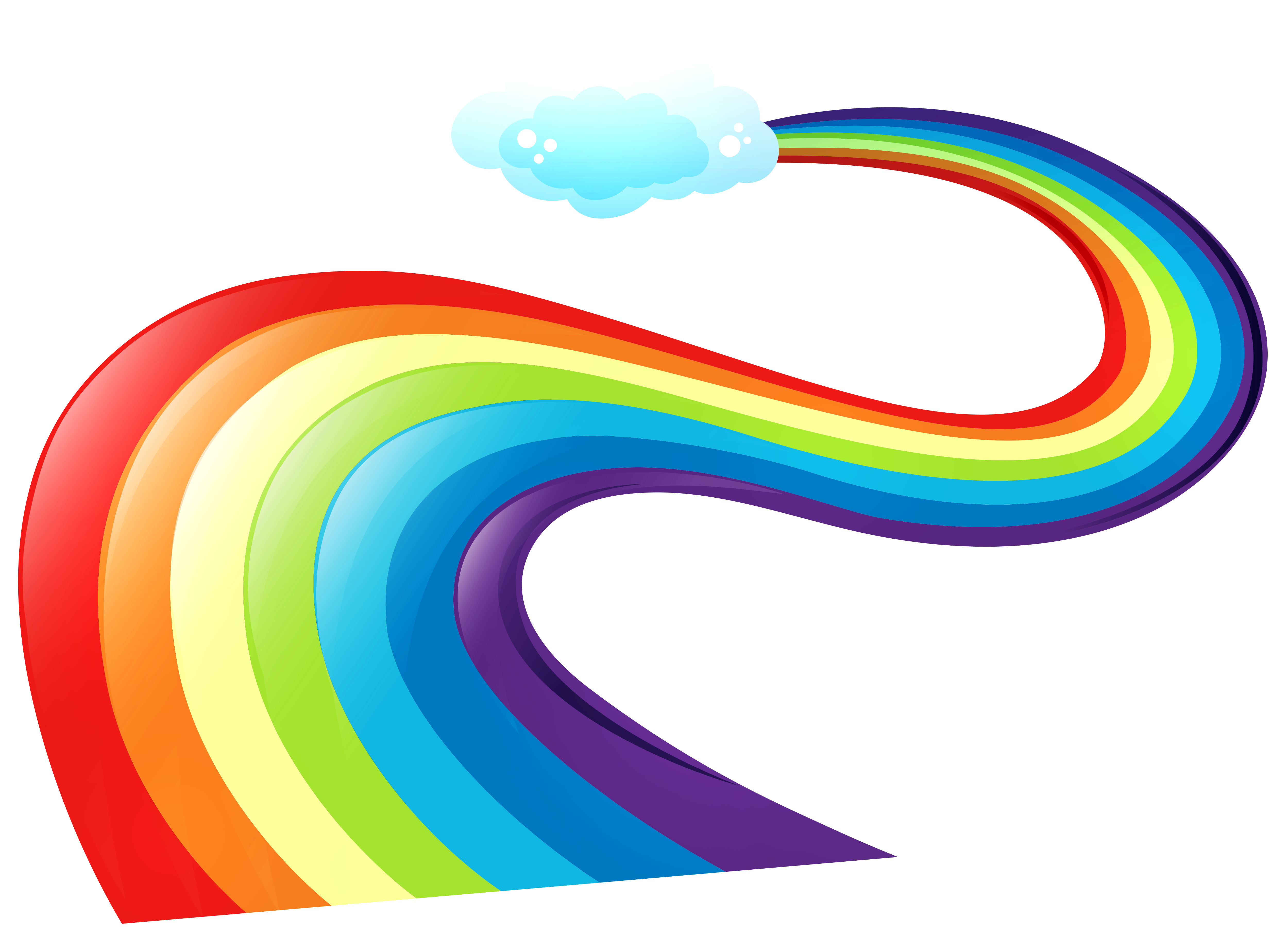 5000x3688 Rainbow Way Png Clipartu200b Gallery Yopriceville