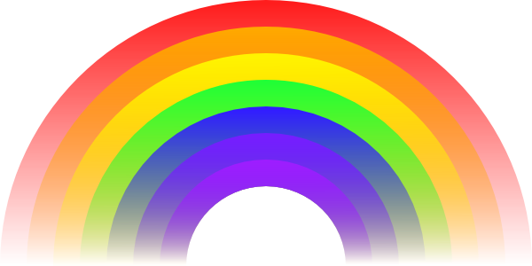 600x300 Rainbow Clipart For Kids Free Images