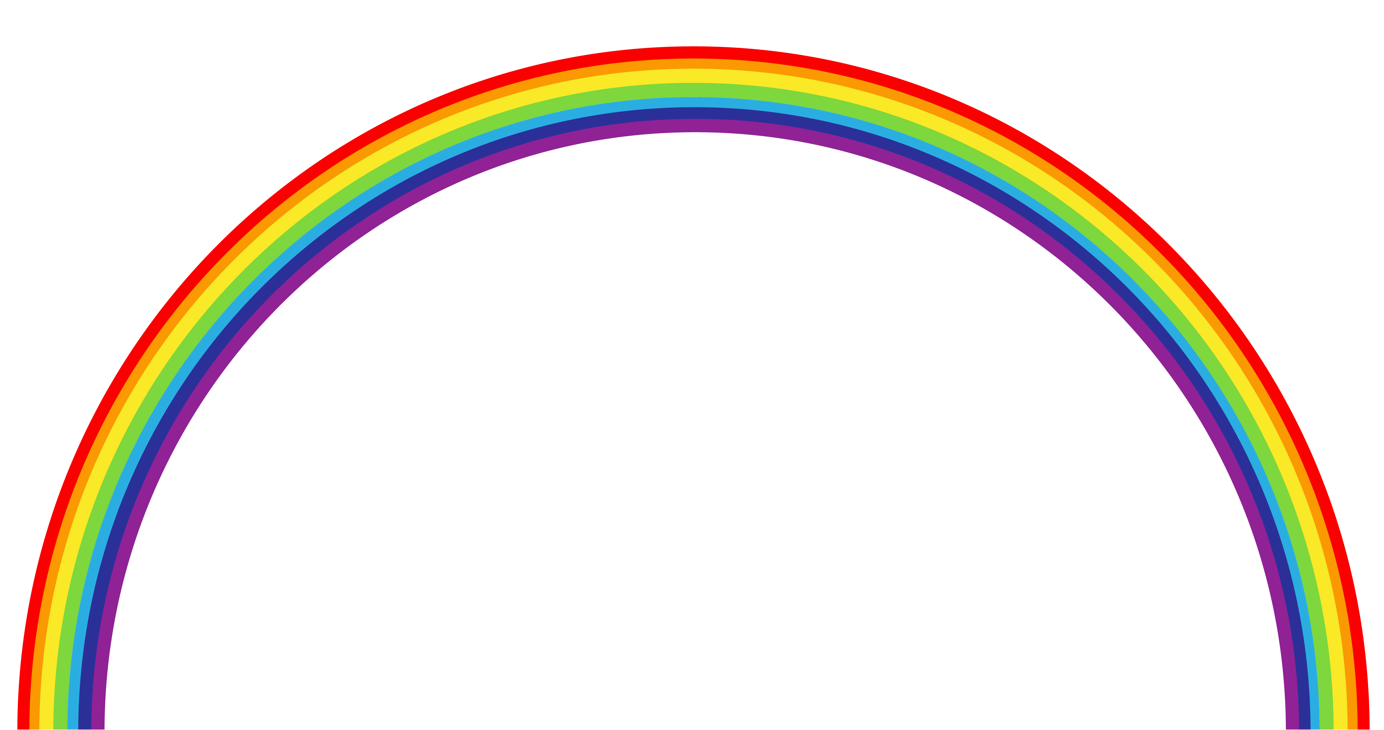 4511x2380 Rainbow Clipart For Kids Free Images 2 2