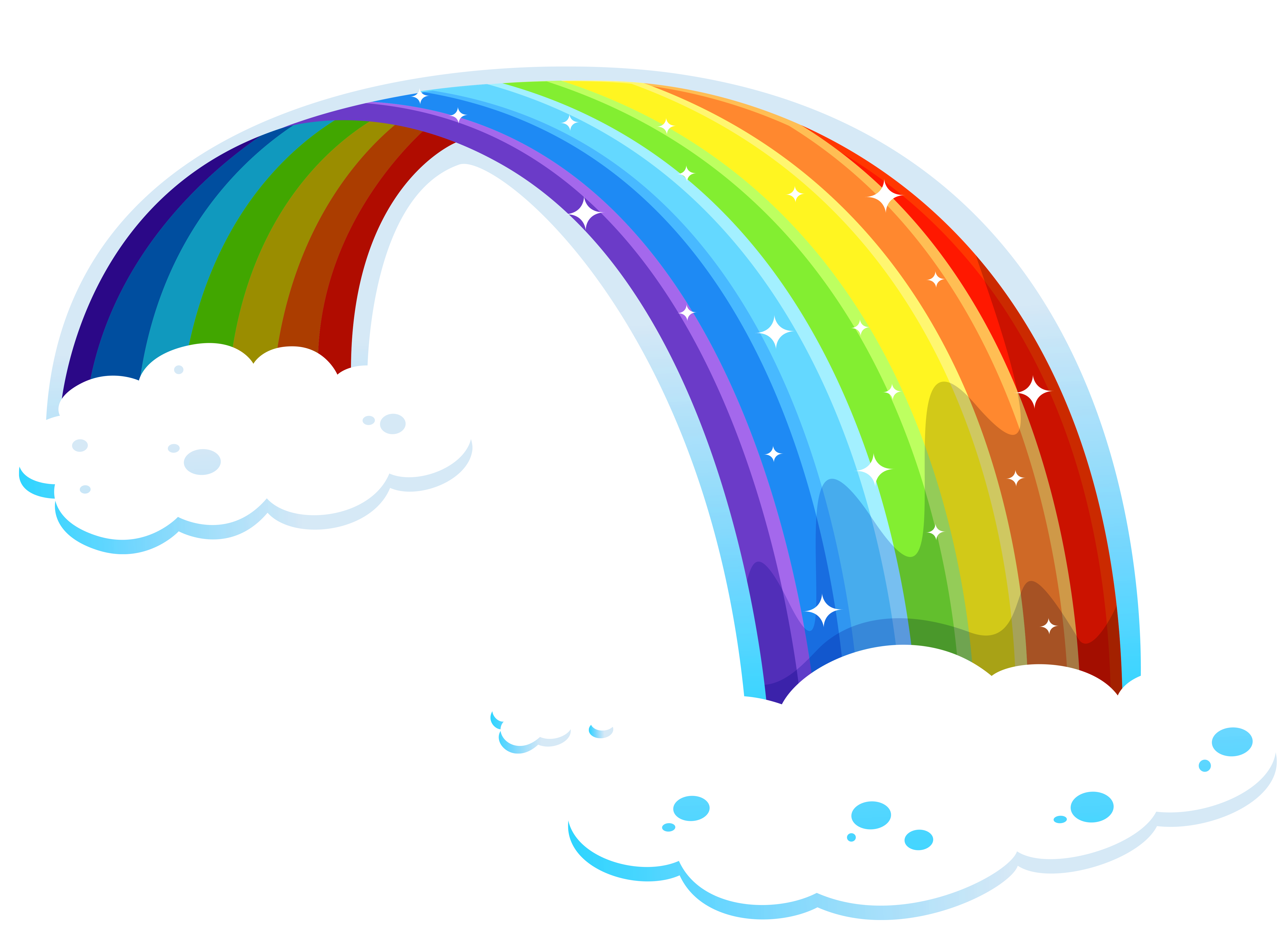 5068x3737 Rainbow With Clouds Png Clipartu200b Gallery Yopriceville