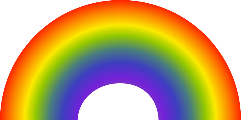 800x398 Free Rainbows Clipart Free Graphics Images And Photos 2