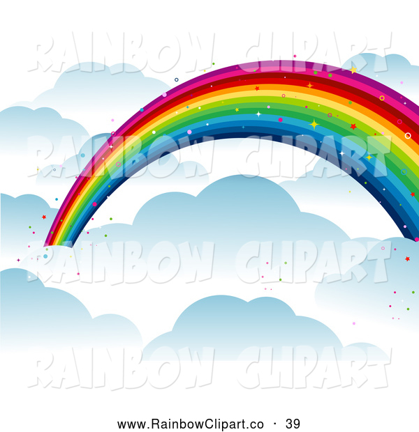 600x620 Over The Rainbow Clip Art Cliparts
