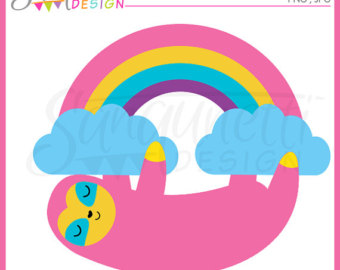 340x270 Pastel Rainbow Clip Art Clouds Clipart Spring Graphics