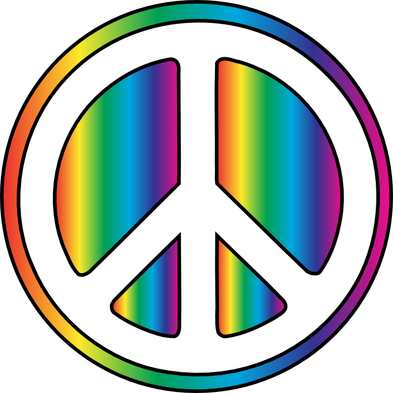 777x777 Peace Sign Clip Art Free Clipart Images 3