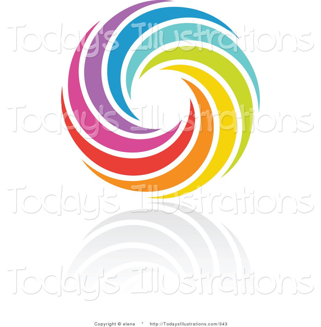1024x1044 Rainbow Circle Clip Art