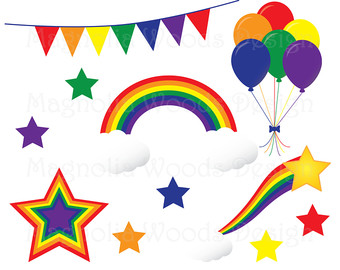340x270 Rainbow Clipart, Rainbow Clip Art, Rainbow Lollipop, Rainbow Hot